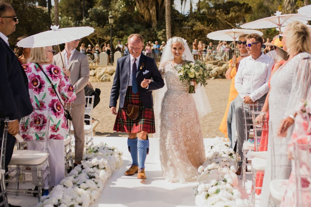 Destination Wedding in Spain | Marbella wedding planner Beach Vibe Beach  Vibe